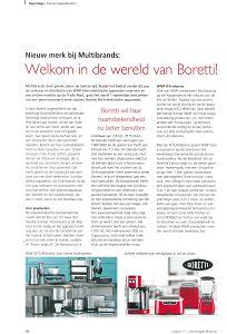 Artikel Boretti en WMF in de Gemengde Branche
